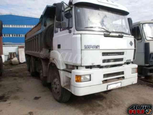 Урал 6363 4Х осный самосвал 2007Г