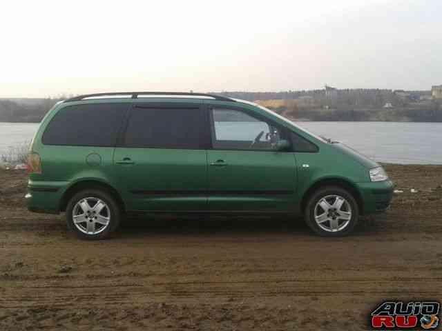 Volkswagen Sharan, 2001