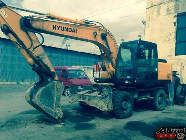 Продам экскаватор колесный Hyundai R170W-7