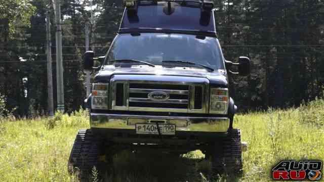 Автодом-вездеход. Ford Econoline E-350