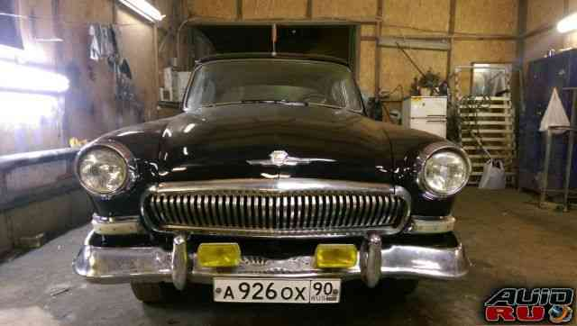 ГАЗ 21 Волга, до 1960