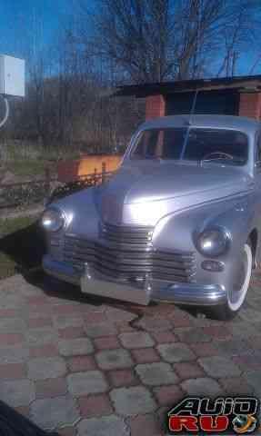 ГАЗ 20 Победа, до 1960