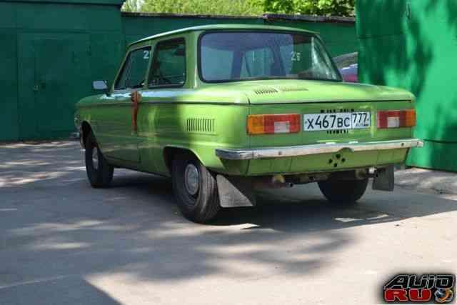ЗАЗ 968 Запорожец, 1982