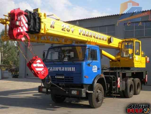 Автокран галичанин кс-55713-1 25 т