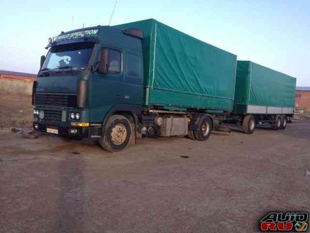 Volvo fh-12 грузовик с прицепом krone