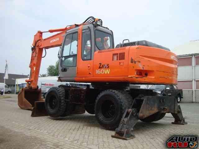 Экскаватор Hitachi zaxis 160 W