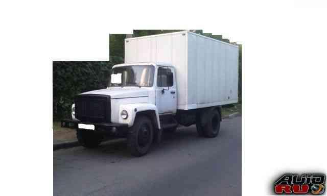 Газ 3307 фургон грузовой с газовой установкой