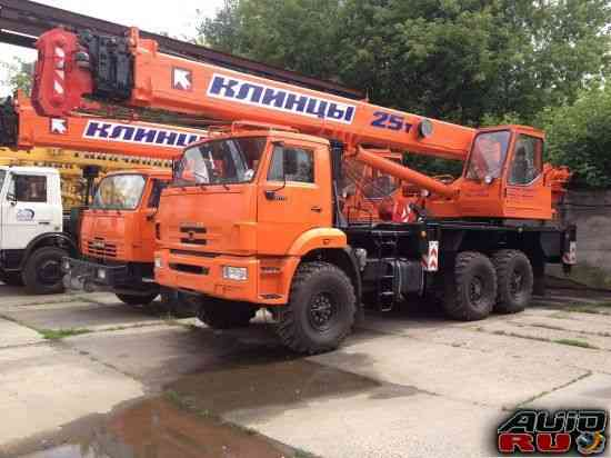 Автокран 25 тонн кс-55713-5К-3