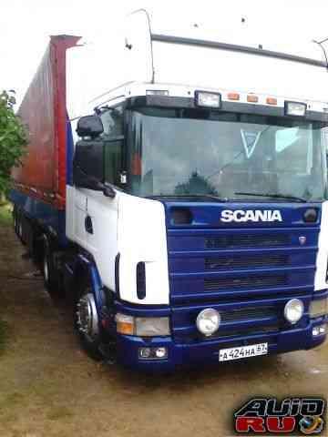 Тягач Scania 4 с п/прицепом
