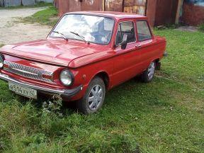 ЗАЗ 968 Запорожец, 1980
