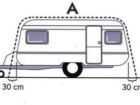 Палатка для каравана (прицеп дача)