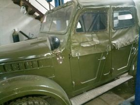 ГАЗ 69, 1965