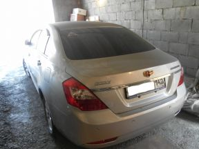 Geely Emgrand 7, 2014