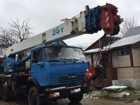 Продам автокран Галичанин 28 метров 25 тонн