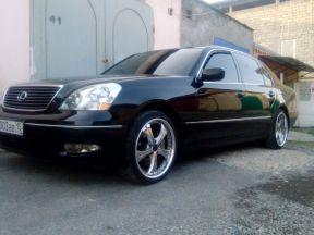Lexus LS, 2002