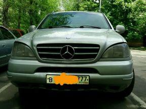 Mercedes-Benz M-класс, 2000
