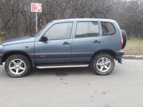 Chevrolet Niva, 2008