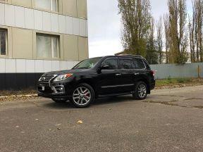 Lexus LX, 2014
