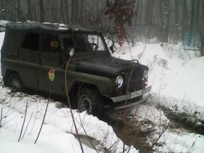 УАЗ 469, 1977