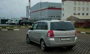 Opel Zafira, 2008