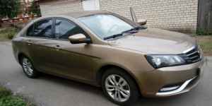 Geely Emgrand 7, 2016