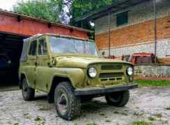 УАЗ 469, 1980