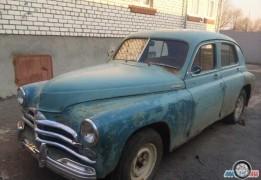 ГАЗ 20 Победа, до 1960 года